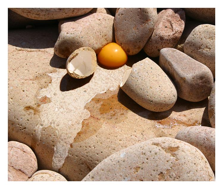 Fragile rocks