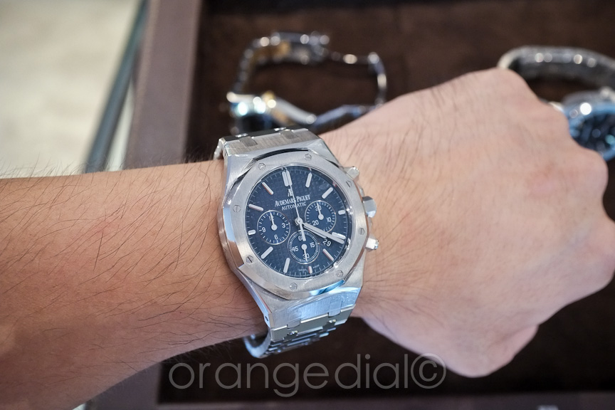 ec30e9c93d05c AP Royal Oak Ref  15400 Blue - Page 2 - Rolex Forums - Rolex Watch Forum
