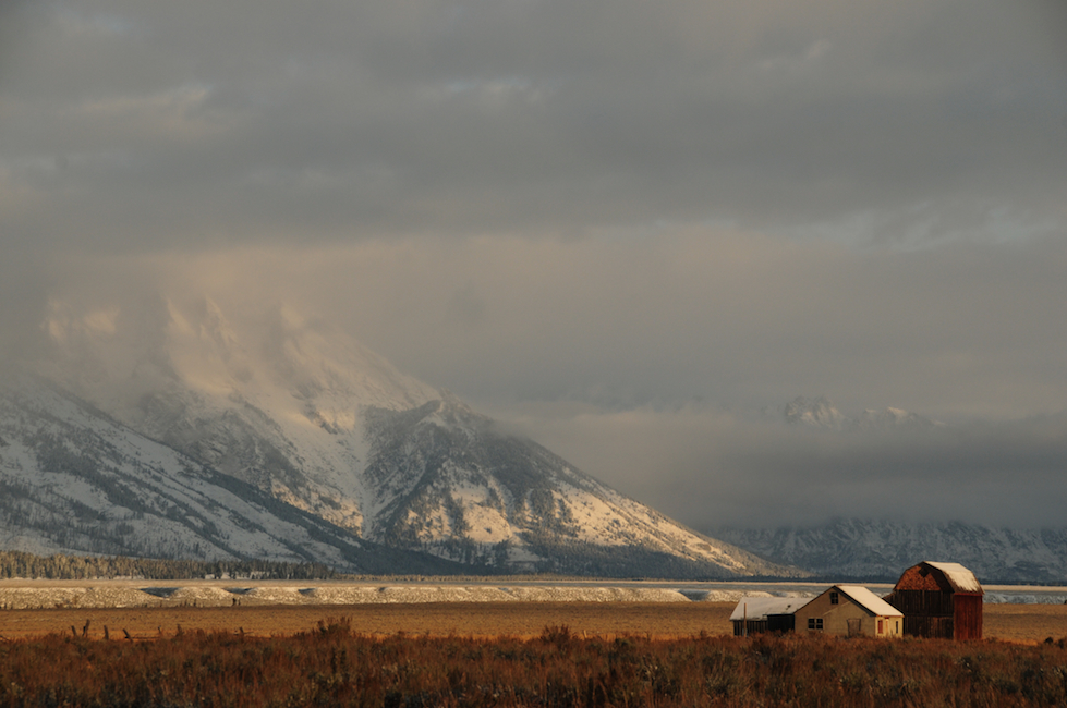 Winter Comes Early to the Tetons