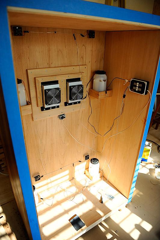 Cooled Humidor Cabinet