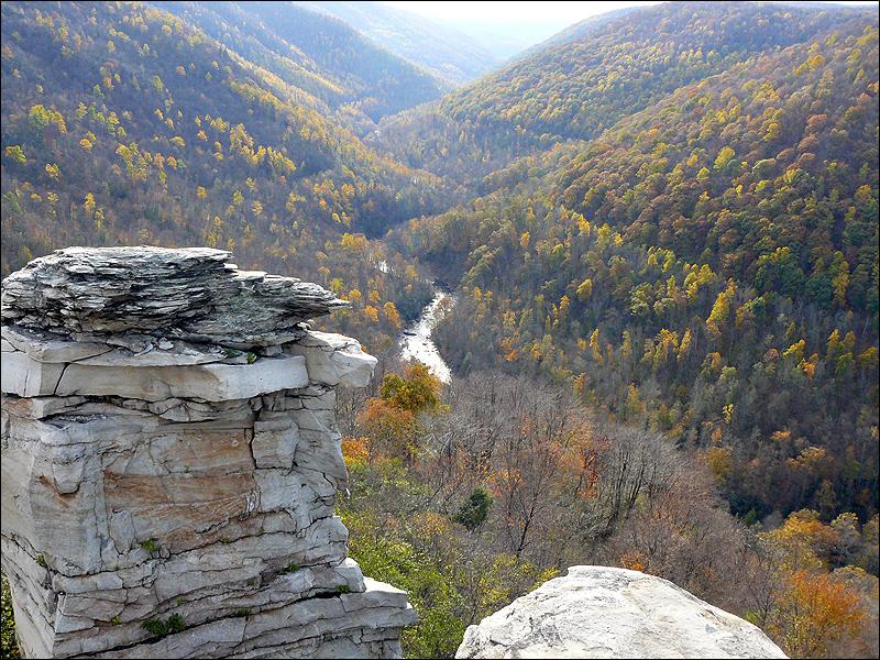 Blackwater Falls lookout