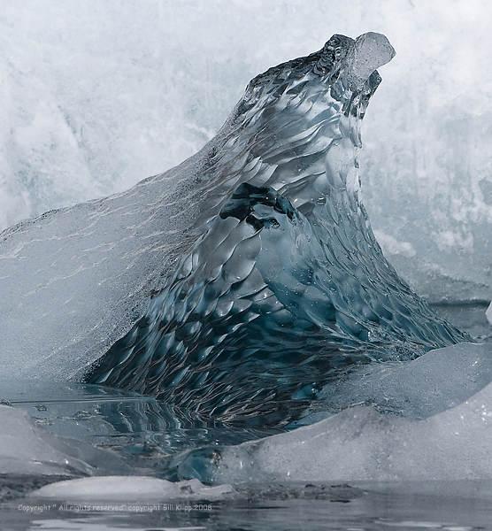 Sea Ice,  Port Lockroy