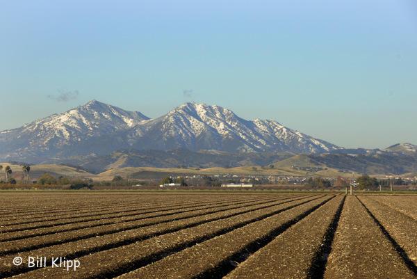 Mt. Diablo with Snow  1