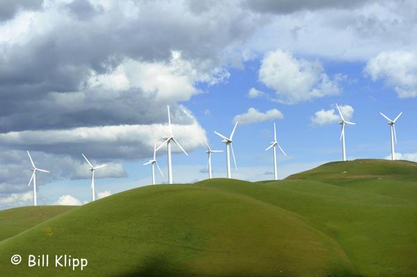 Wind Generators along Vasco Road  1