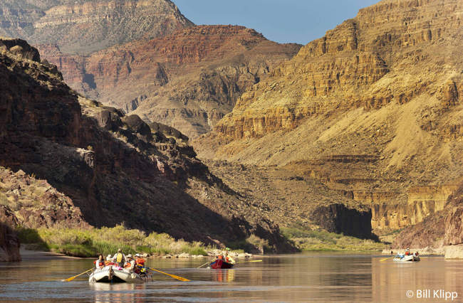Rafting in Lower Grand Canyon  1