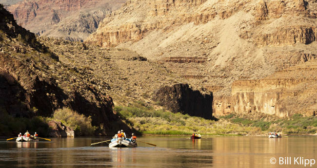 Rafting in Lower Grand Canyon  3