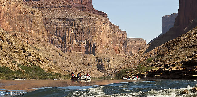 Entering the Rapids, Colorado River  1