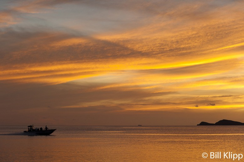 Sunset from Cooper Island   2