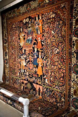 Persian Carpet ( Rug ) Museum photo