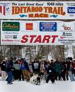 THE START BEGINS IN ANCHORAGE FOR THE PRESS AND THE REAL RACE START THEN MOVES TO WASILLA