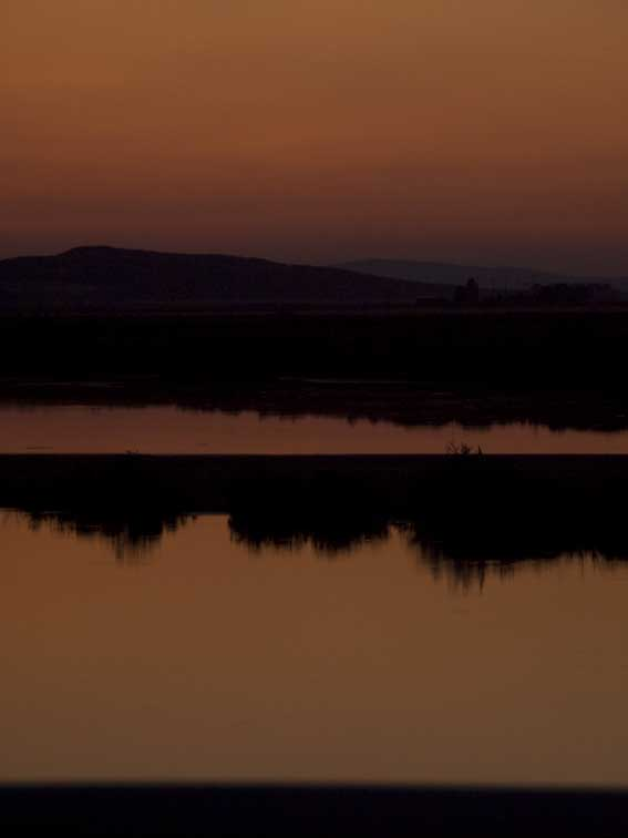 <B>Layers of Dusk</B> <BR><FONT SIZE=2>Tule Lake, California - September 2008</FONT>
