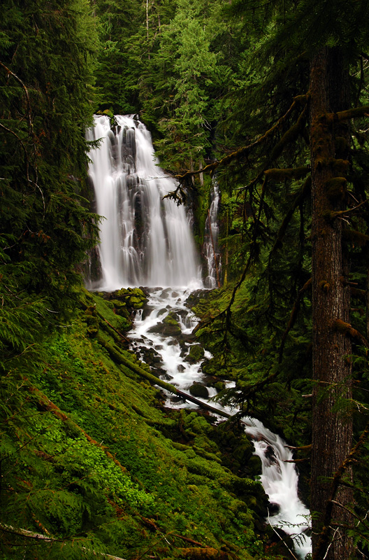 Lower Linton Falls, Wide Study #2
