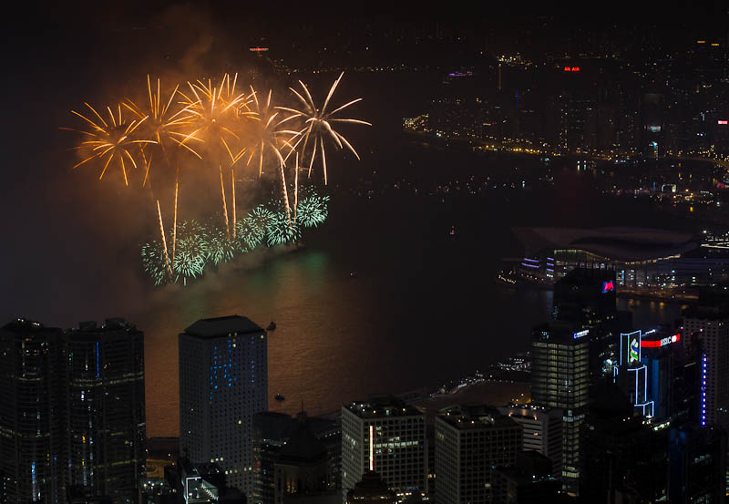 Year of Snake Fireworks