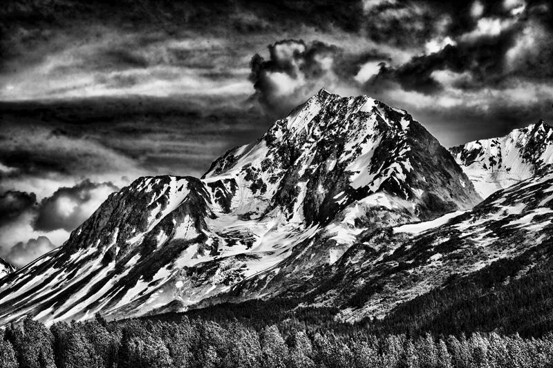 Alaska Chugach Mountains