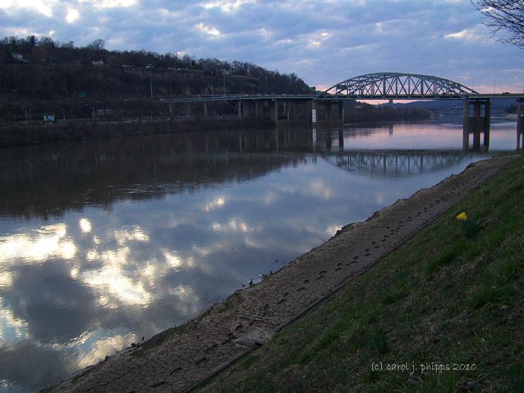 River, Bridge, Sky!