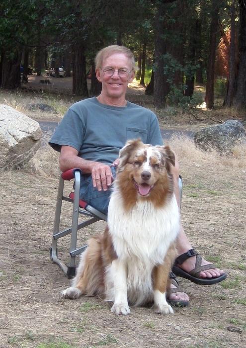 Larry and Skye Lea at Yosemite