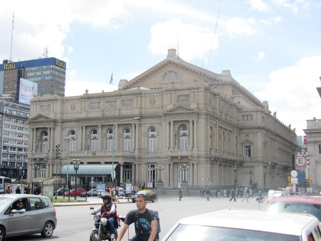 the Teatro Colon
