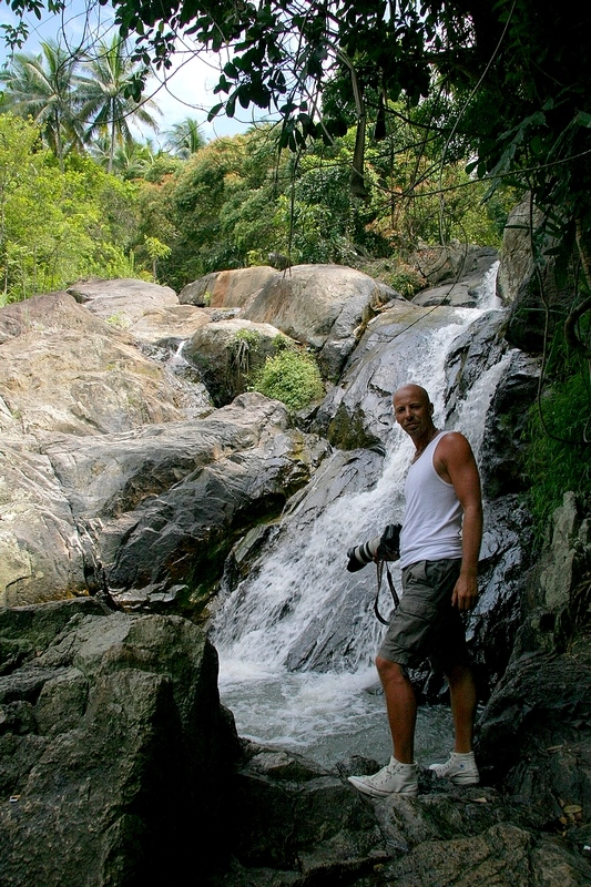 Me posing at Koh Samui, Thailand