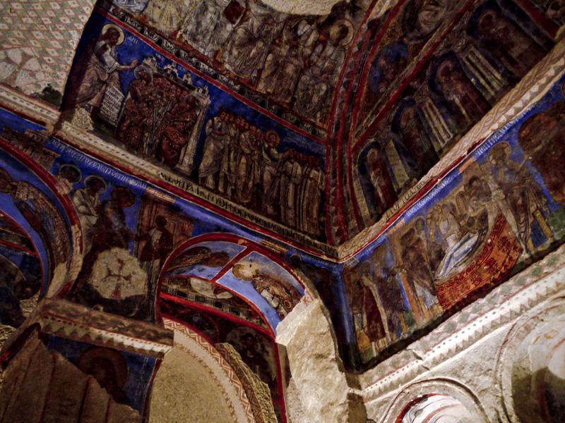 Detalle interior de la iglesia