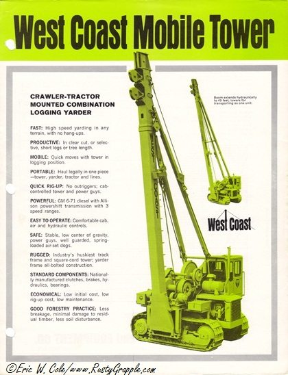 West Coast Falcon Brochure Cover