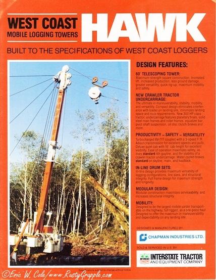 West Coast Hawk Brochure Cover