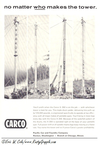 -Carco X-350 Hoist- With Any Tower