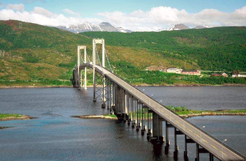 Tjeldsund-bridge