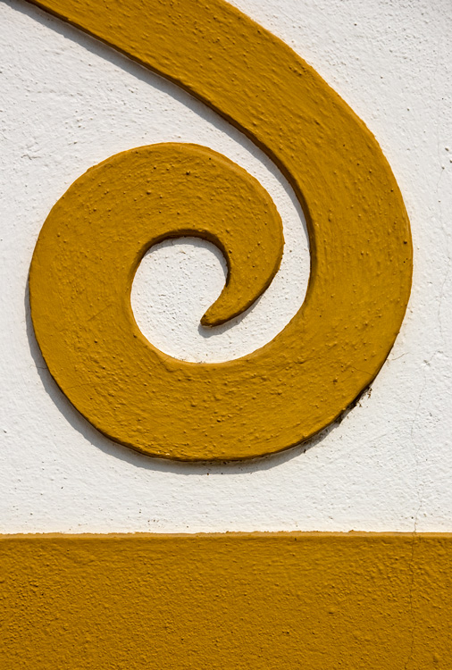 The yellow spiral