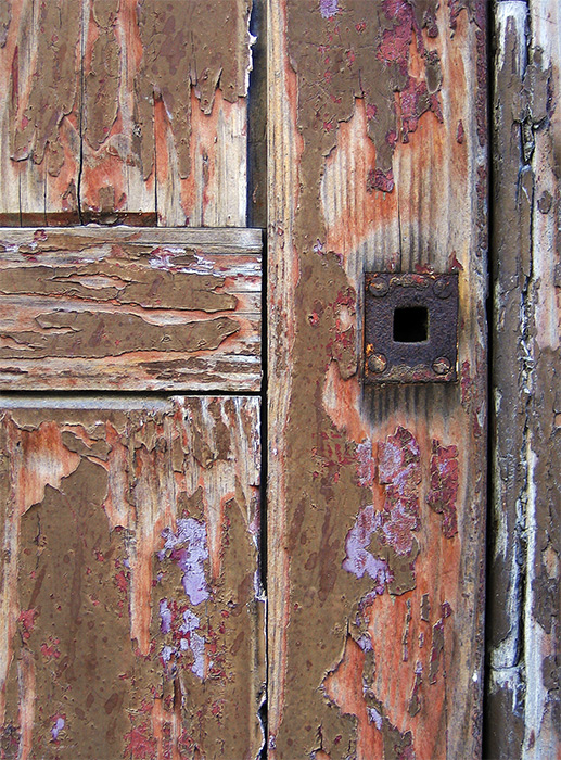 And another old door...