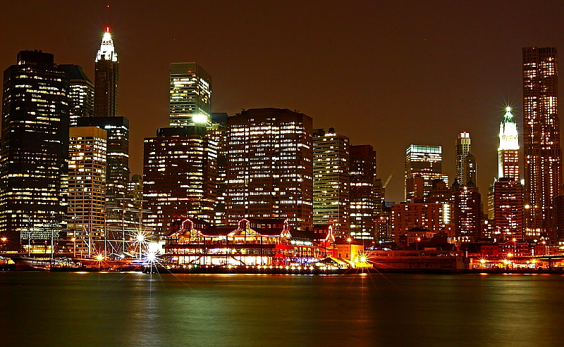 Pier 17 From The Brooklyn Side