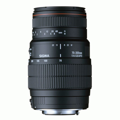 Sigma 70-300mm f/4-5.6 APO Macro Super II