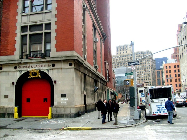 Moore and Varick - the Ghostbusters fire house