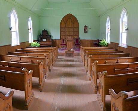 19th Century Church Interior 06447-9