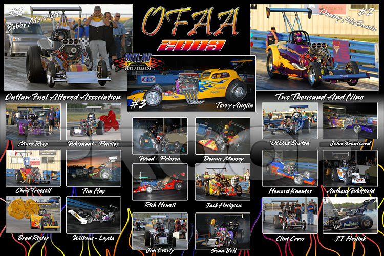 2009 Outlaw Fuel Altered Assoc.