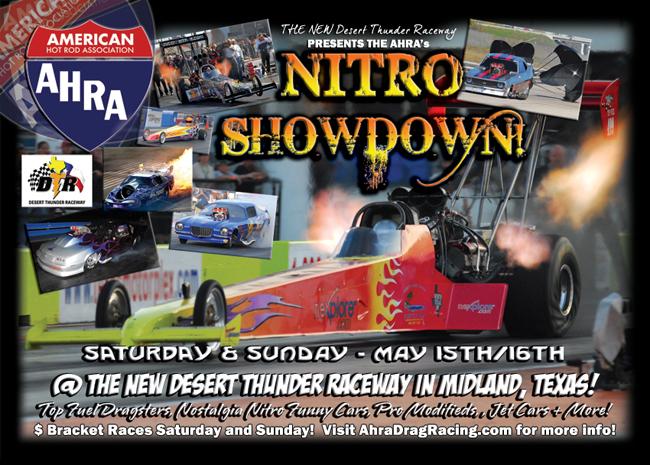 AHRA Nitro Showdown Midland 2010