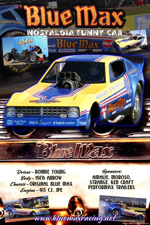 Blue Max Racing Show Board