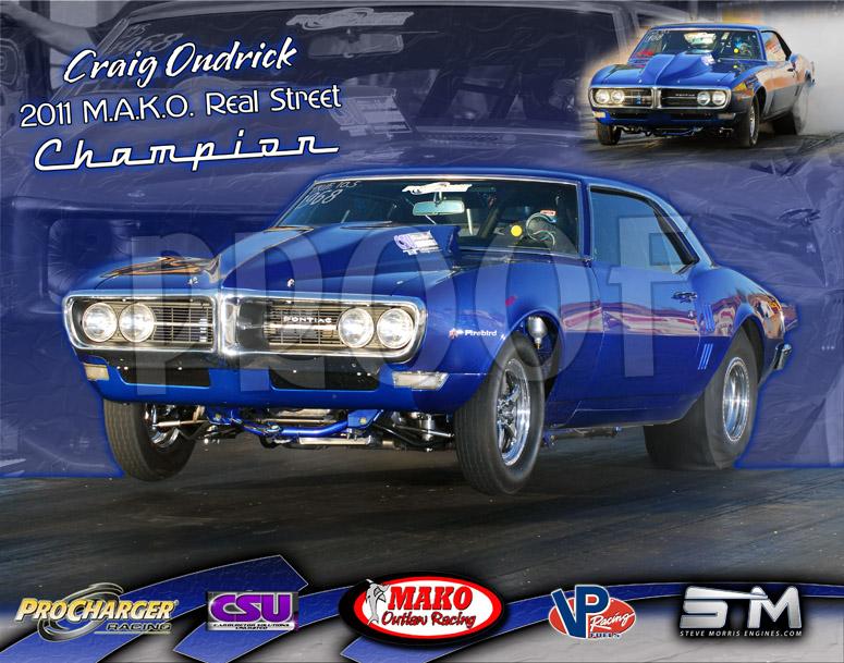 2011 Craig Ondrick MAKO Champion