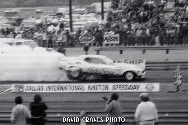 Dale Creasy Sr, 73 IHRA Longhorn Nats, April 1973