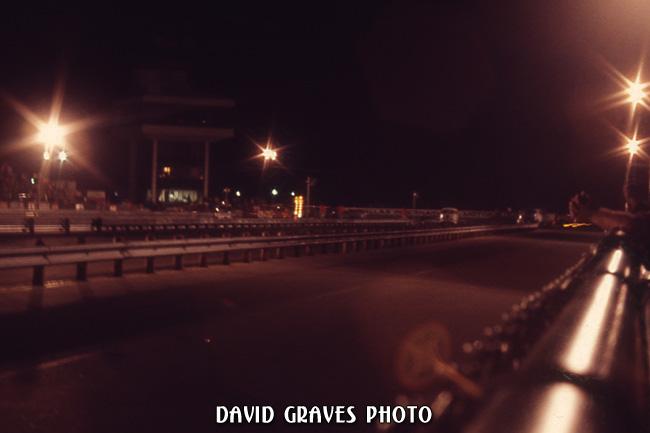 nighttime Dallas Int Motor Speedway July 1970