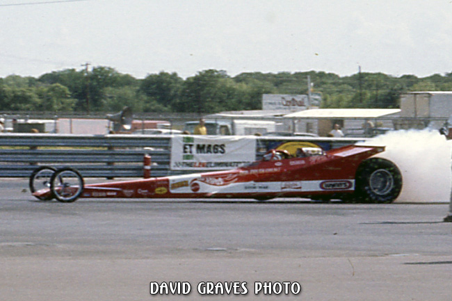 Don Prudhomme, DIMS, NHRA Springnationals 1971 Friday qualifying