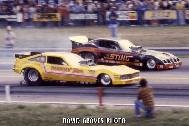 Billy Meyer vs Larry Coogles The Sting, NHRA Cajun Nats, Baton Rouge