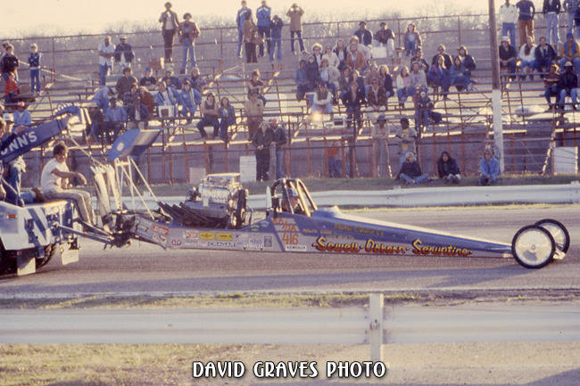 Sewell, Osborn & Seruntine Alcohol Dragster - Green Valley