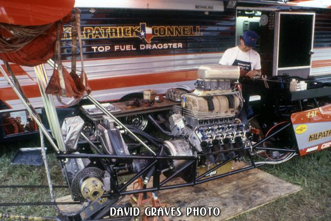Kilpatrick & Connell Top Fuel w/Richard Tharp - Cajun Nationals