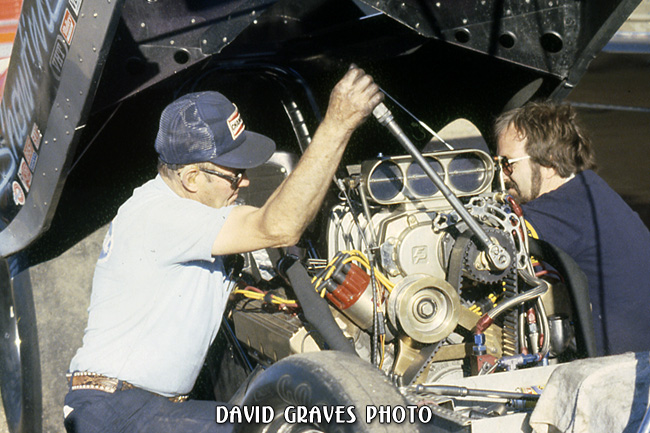 George Hoover and Tom Hoover, Green Valley Raceway