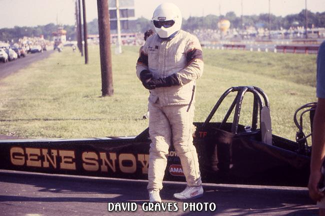 Gene Snow at top end - Cajun Nationals
