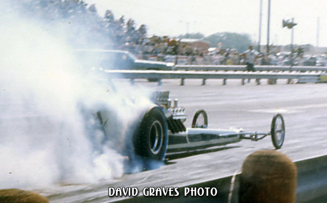 IHRA Nationals, Dallas 1972 - Don Coker won this race and set an elapsed time record with a 7.26!