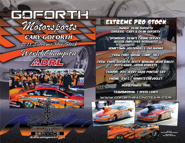 Goforth 2012 Pro Stock