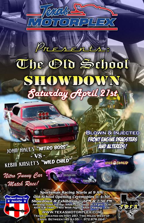 Texas Motorplex Old School Showdown 2012