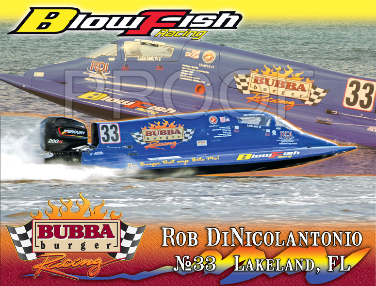Blowfish PowerBoat  2012