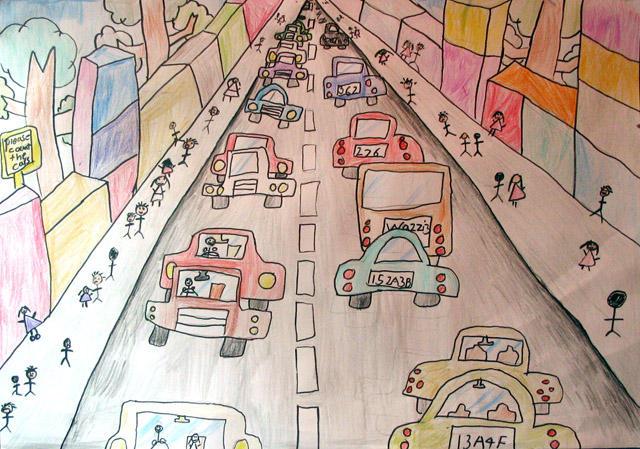 please count the cars, Kelvin Su, age:7